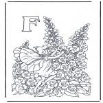 Różne - Alfabet F