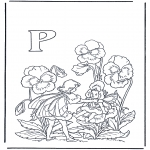 Różne - Alfabet P