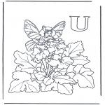 Różne - Alfabet U