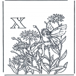 Różne - Alfabet X