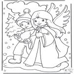 Boze Narodzenie - Anioł i Chłopczyk
