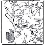 Kolorowanki Biblijne - Arka Noego 1