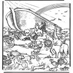Kolorowanki Biblijne - Arka Noego 5