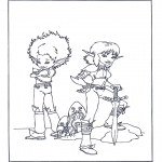 Bohaterowie Z Bajek - Artur i Minimki 4