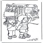 Przedszkolaki - Autobusem do szkoły