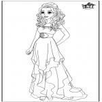 Bohaterowie Z Bajek - Barbie Suknia ślubna