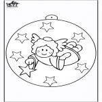 Boze Narodzenie - Bombka - Anioł 2