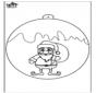 Bombka - Święty Mikołaj 1
