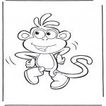 Przedszkolaki - Boots Małpka