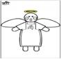 Boże Narodzenie - anioł 3