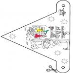 Boze Narodzenie - Boże Narodzenie flaga 9