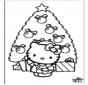 Boże Narodzenie Hello Kitty