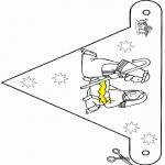 Boze Narodzenie - Bożonarodzeniowa obórka - Flaga