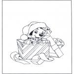 Boze Narodzenie - Bożonarodzeniowy dalmatyńczyk