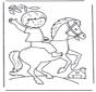 Chłopiec na koniu