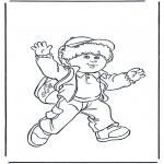 Przedszkolaki - Chłopiec z torebką