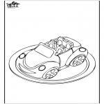 Różne - Ciasto - Samochód