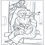 Kolorowanki Biblijne - Córka  3