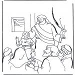 Kolorowanki Biblijne - Córka Judy 2