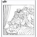 Kolorowanki Biblijne - Córka Judy 4
