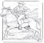 Cowboy z Koniem