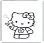 Cześć Kitty Walentynka