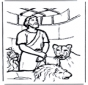 Daniel w jaskini lwa 1
