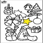 Boze Narodzenie - Dekoracje na Boże Narodzenie 4