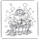 Bohaterowie Z Bajek - Diddl w kąpieli