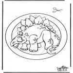 Zwierzęta - Dino - Obrazek na okno