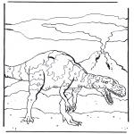 Zwierzęta - Dinozaur 4