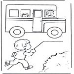 Przedszkolaki - Do autobusu szkolnego