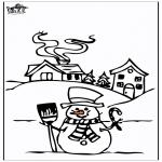 Zima - Dom w śniegu 4
