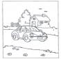 Domek i samochód