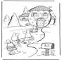 Domek zajączka wielkanocnego