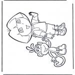 Przedszkolaki - Dora i Boots