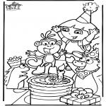 Tematy - Dora ma Urodziny