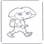 Przedszkolaki - Dora z plecakiem