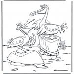 Zwierzęta - Dwa pelikany