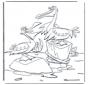 Dwa pelikany