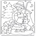 Boze Narodzenie - Dzieciątko w Żłobku