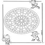 Mandala's - Dziecięca Geomandala 1