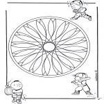 Mandala's - Dziecięca Geomandala 2