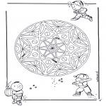 Mandala's - Dziecięca Geomandala 3