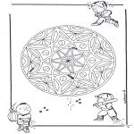 Mandala's - Dziecięca Geomandala