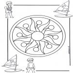 Mandala's - Dziecięca Mandala 1
