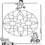 Mandala's - Dziecięca Mandala 10