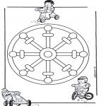 Mandala's - Dziecięca Mandala 11