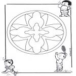 Mandala's - Dziecięca Mandala 16