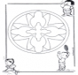 Dziecięca Mandala 16